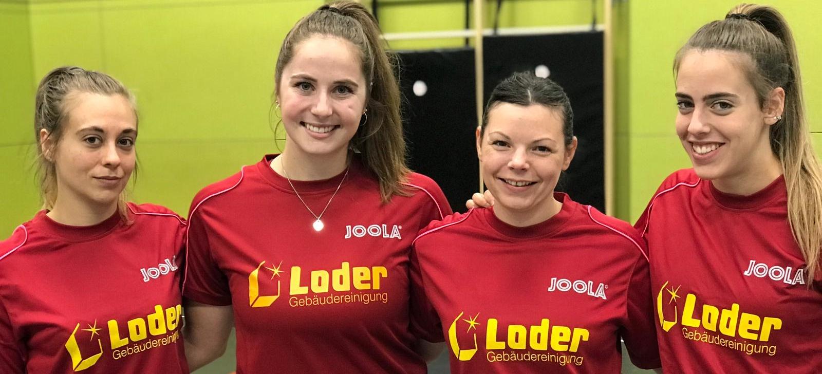 DJK Sportbund Landshut Damen Bundesliga Tischtennis